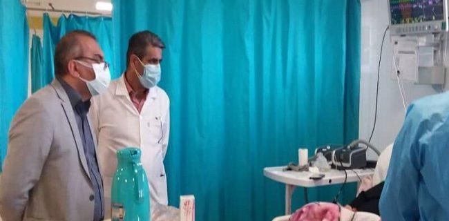 بیست و هفت بیمار کرونایی بستری در بیمارستان شهید نورانی تالش