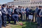 کلنگ افتتاح بخش تخصصی قلب بیمارستان شهید نورانی تالش