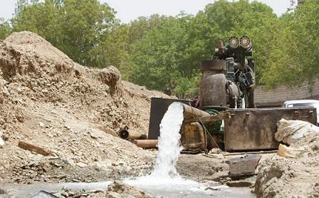 تقویت آب شرب 320 خانوار بخش اسالم