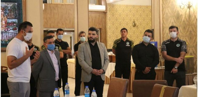 حضور بهمن محمدیاری با وعده ی اهدای پاداش ویژه در اردوی سبزپوشان