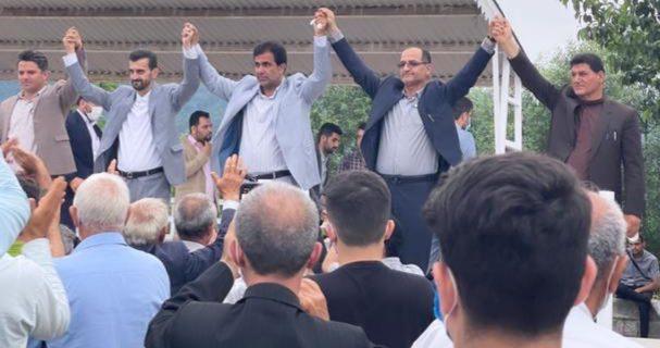 پیروزی ائتلاف سفیران خدمت در برابر ائتلاف تغییر