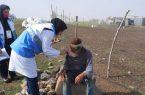 گزارش تصویری روند واکسیناسیون در روستاهای تالش