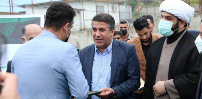 مراسم معارفه سرمربی و اعضای مدیریتی تیم فوتبال چوکای تالش برگزار شد.